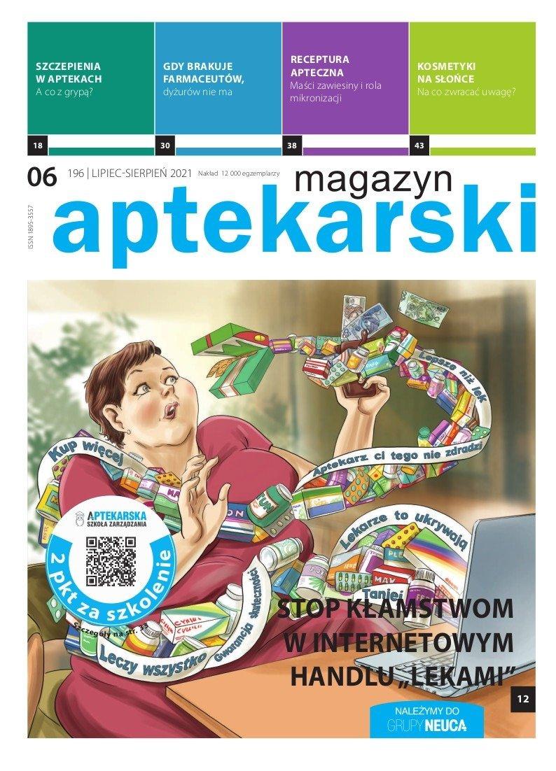 """""""Magazyn Aptekarski"""", lipiec-sierpień 2021"""