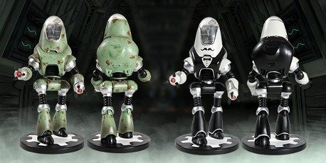 RobCo Sends 800 Fallout Protectron Statues to the Bethesda Gear Store
