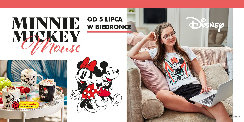 Bajkowa kolekcja, czyli duet Mickey i Minnie od Disneya po raz pierwszy w Biedronce