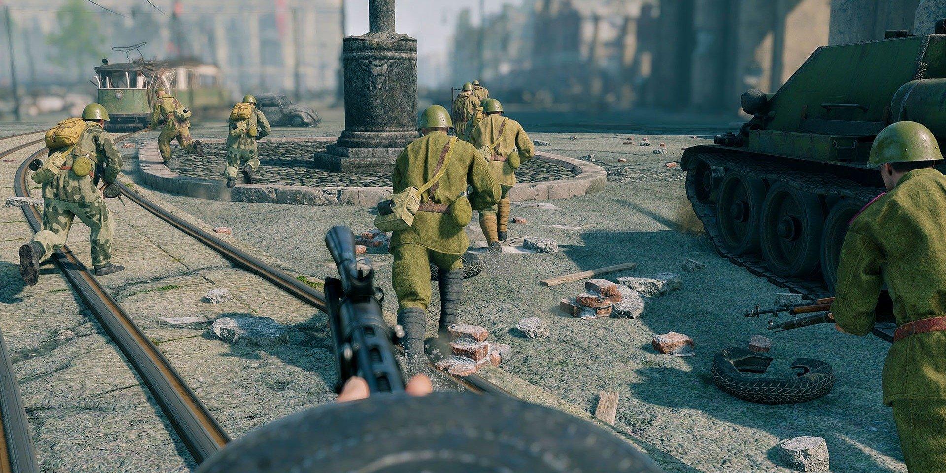 Bitwa o Berlin jest już dostępna za darmo w Enlisted