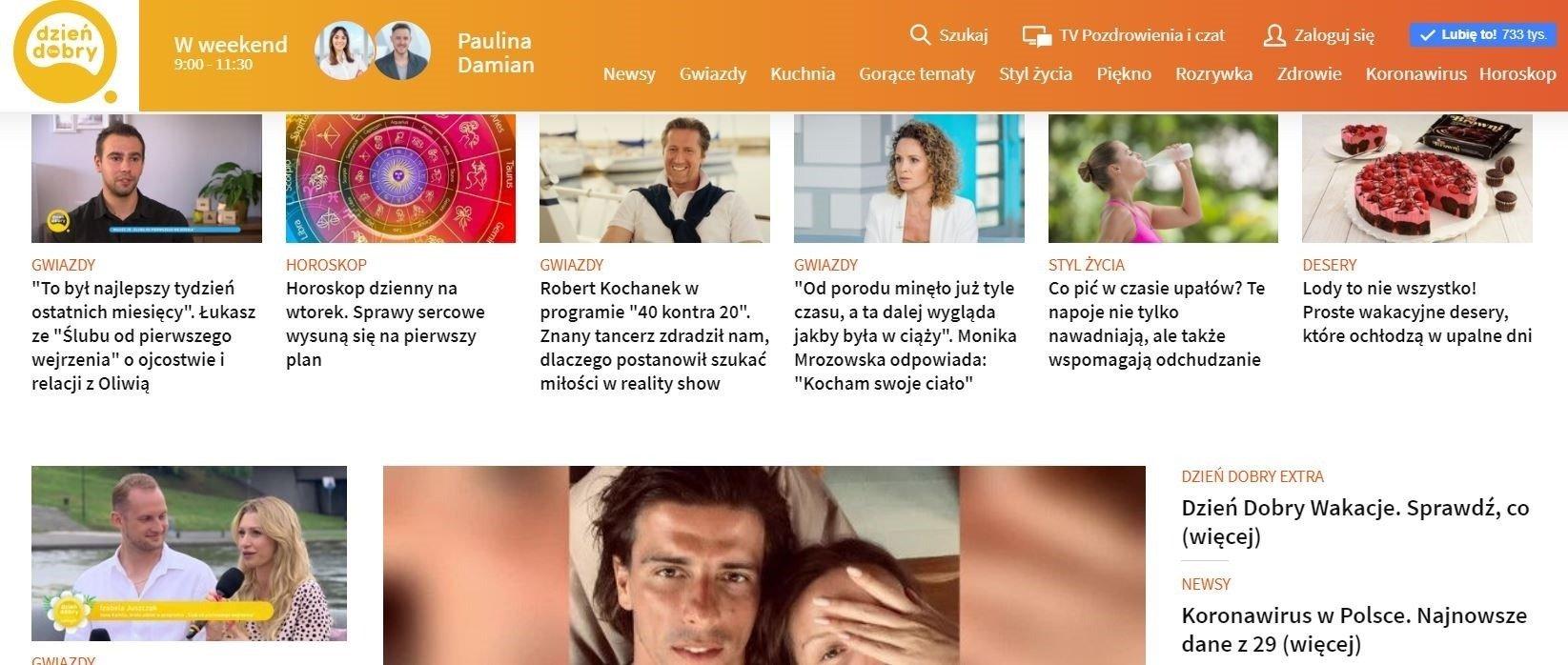TVN rozszerza swoją ofertę dla kobiet. Serwis dziendobry.tvn.pl w top 3 najpopularniejszych serwisów kobiecych w Polsce!