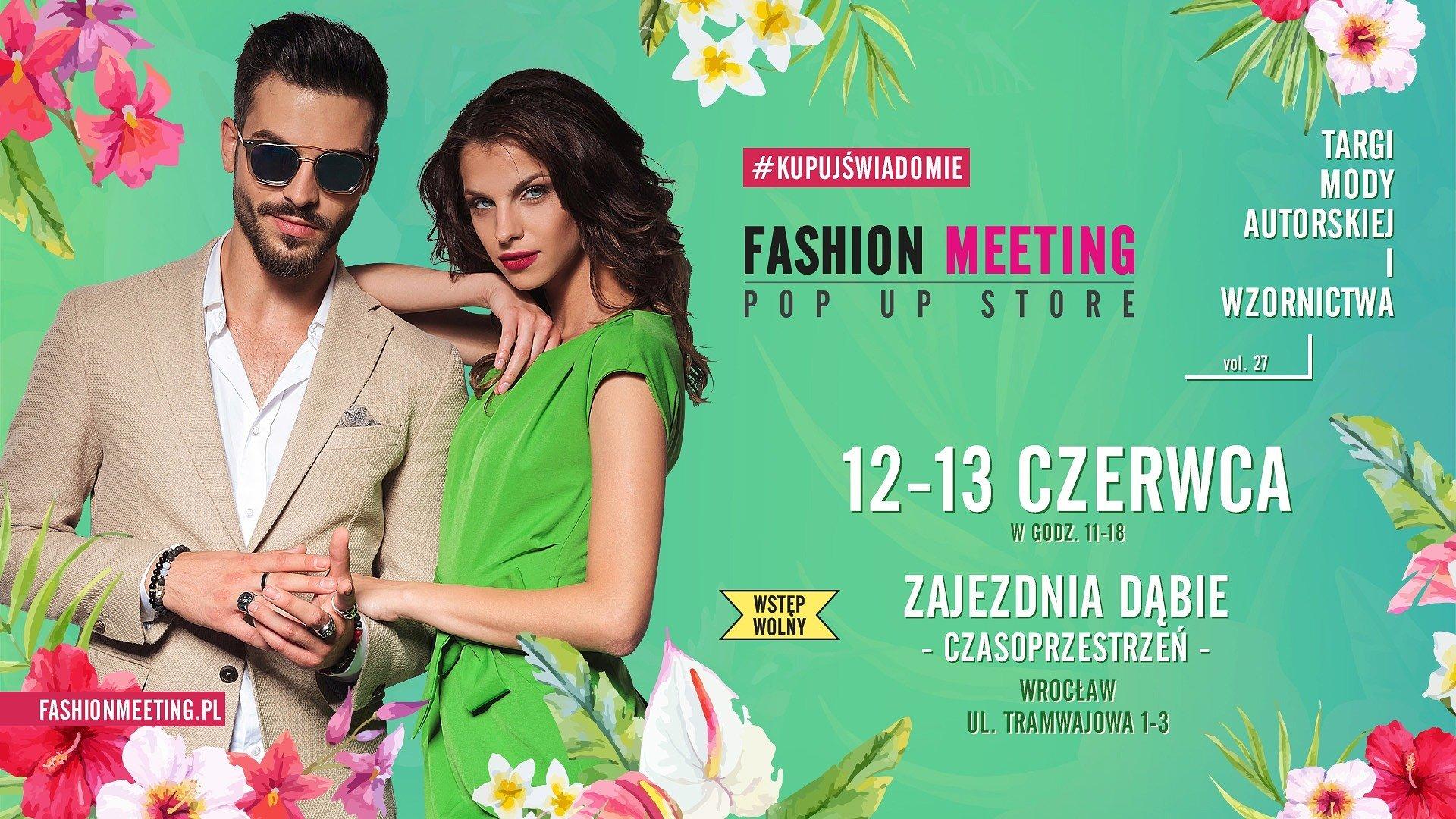 Fashion Meeting powraca! Targi mody autorskiej i wzornictwa już w ten weekend w Czasoprzestrzeni
