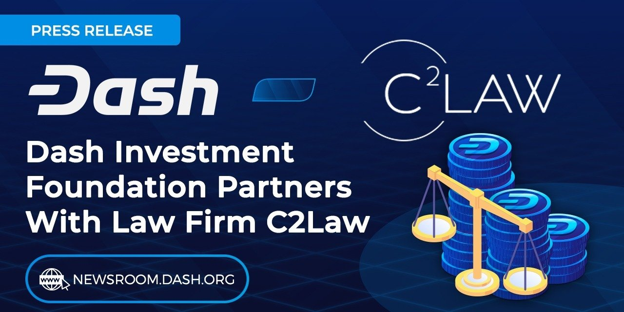 Dash Investment Foundation partners with Brazilian law firm C2Law