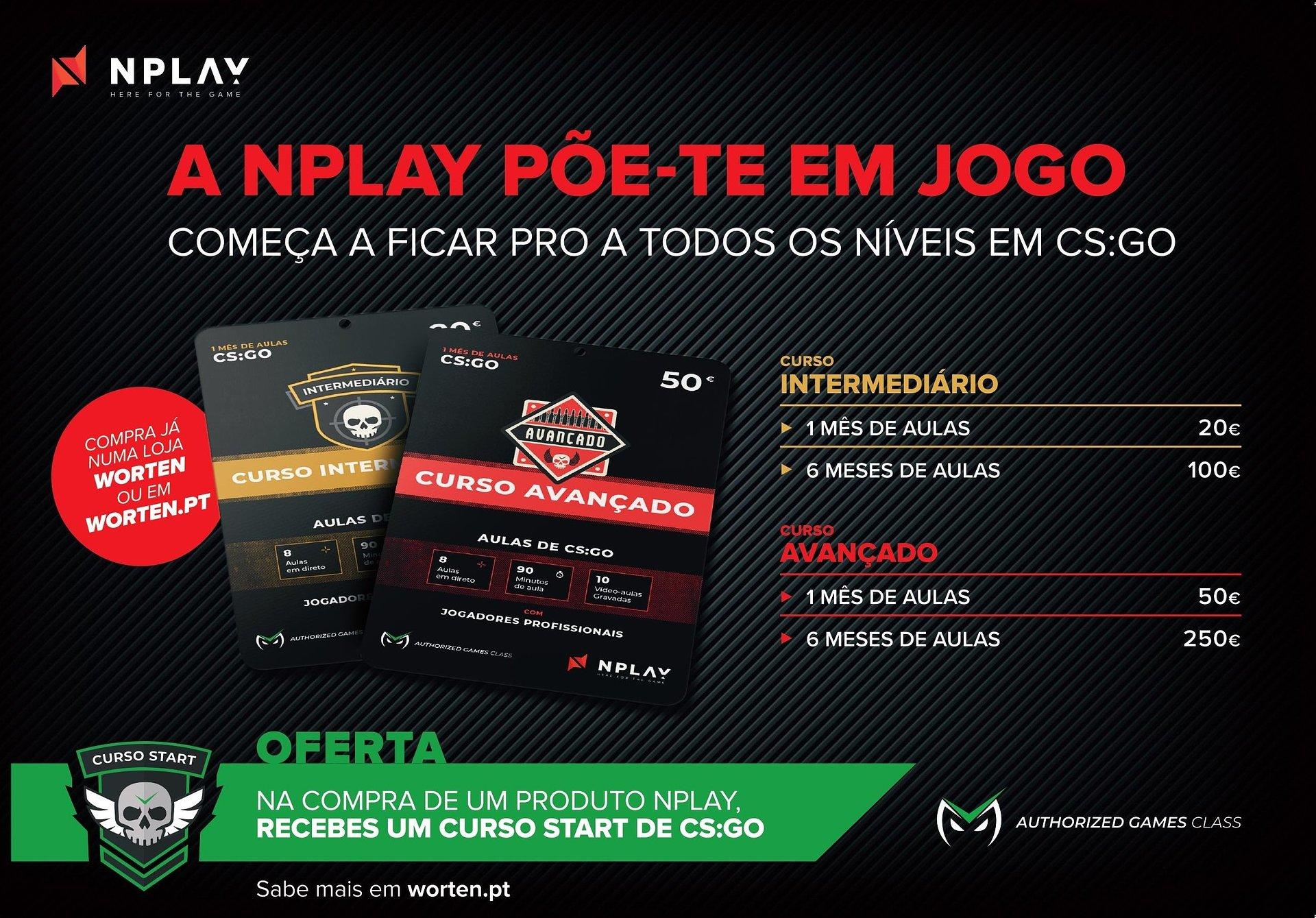 NPLAY APRESENTA CURSOS ESPECIALIZADOS DE CS:GO