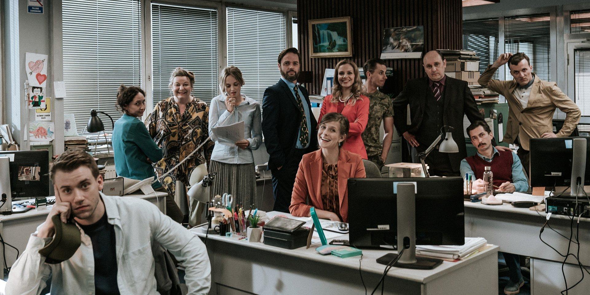 CANAL + Polska we współpracy z BBC Studios realizuje polską wersję kultowego THE OFFICE