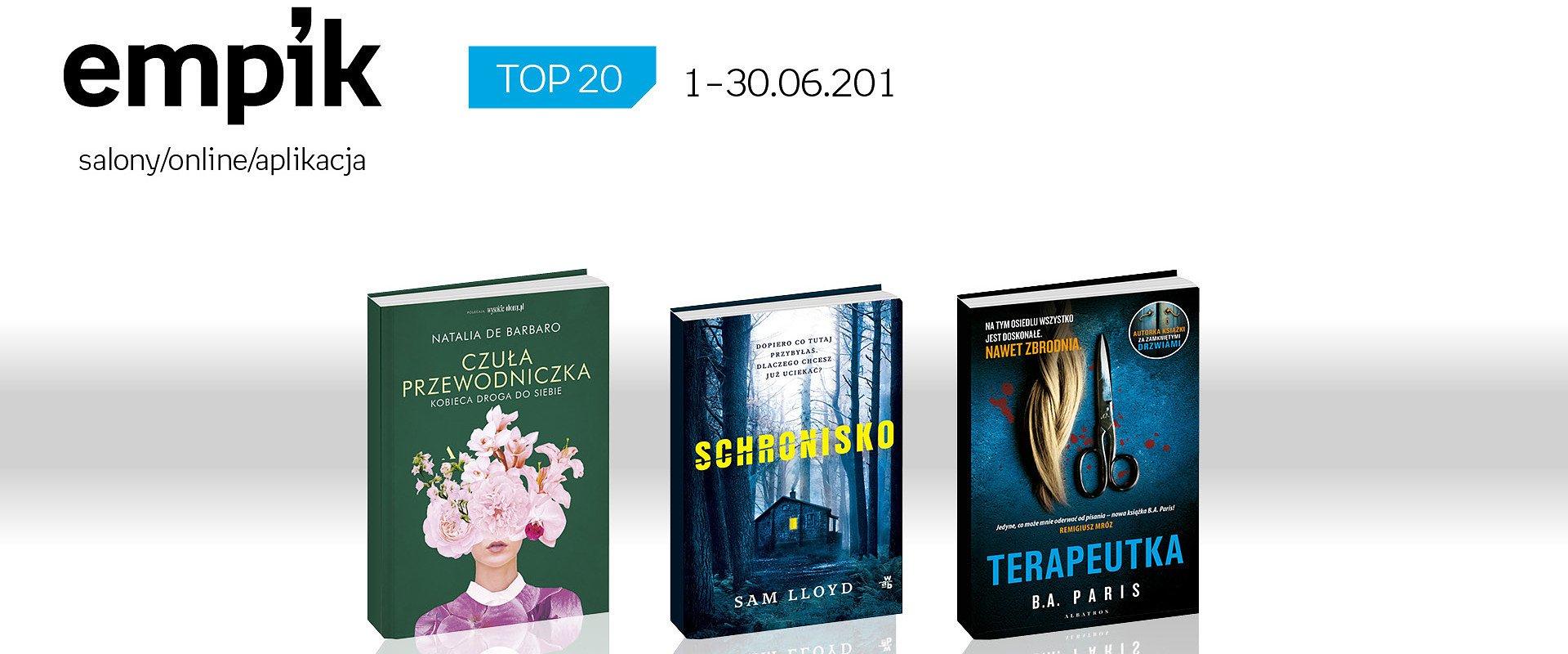 Czerwcowe bestsellery książkowe w Empiku