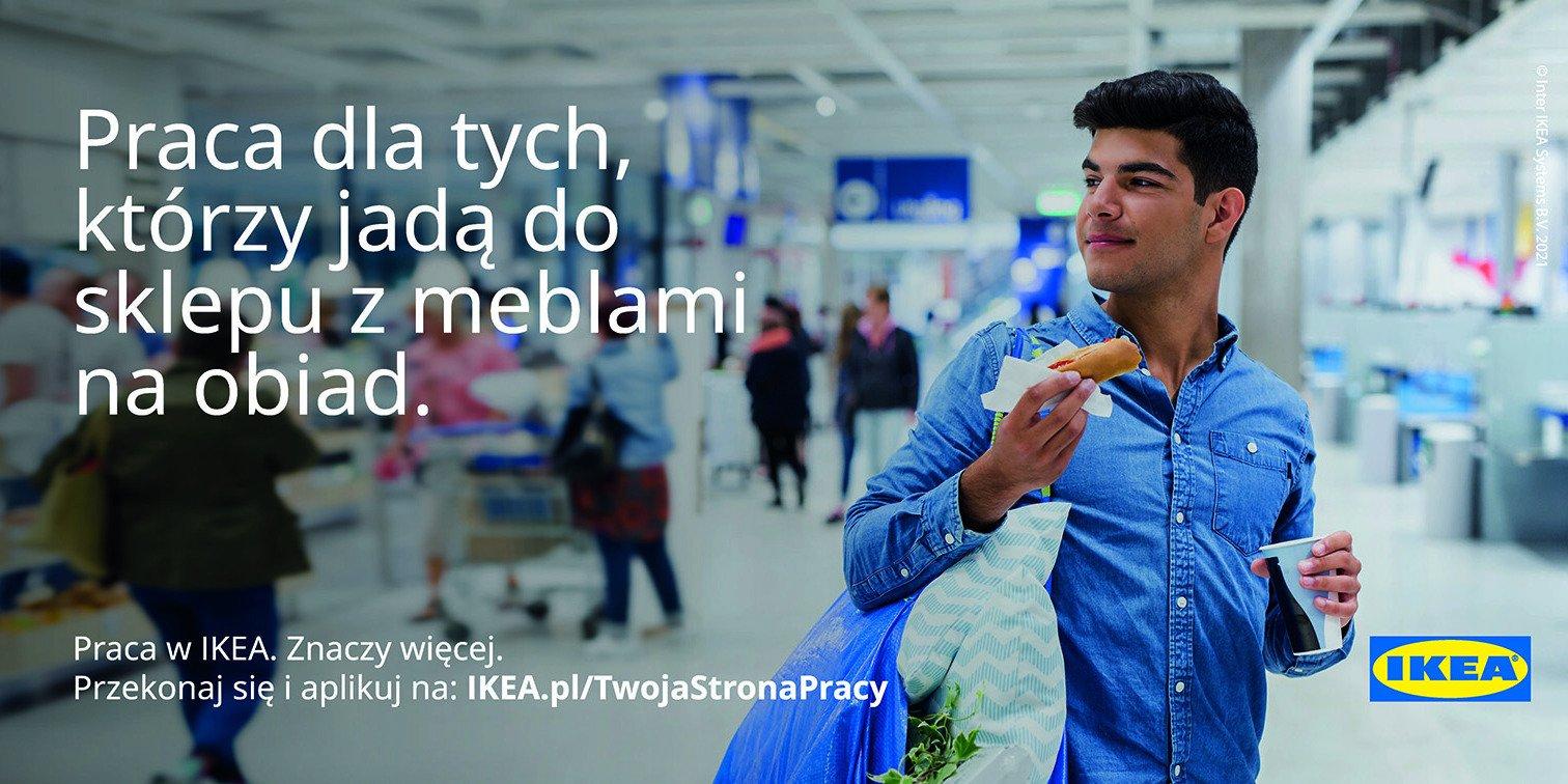 """Praca w IKEA """"Znaczy więcej"""""""