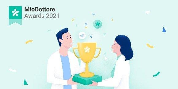 MioDottore Awards 2021: al via la quarta edizione italiana dei premi dedicati ai professionisti della salute più apprezzati da colleghi e pazienti