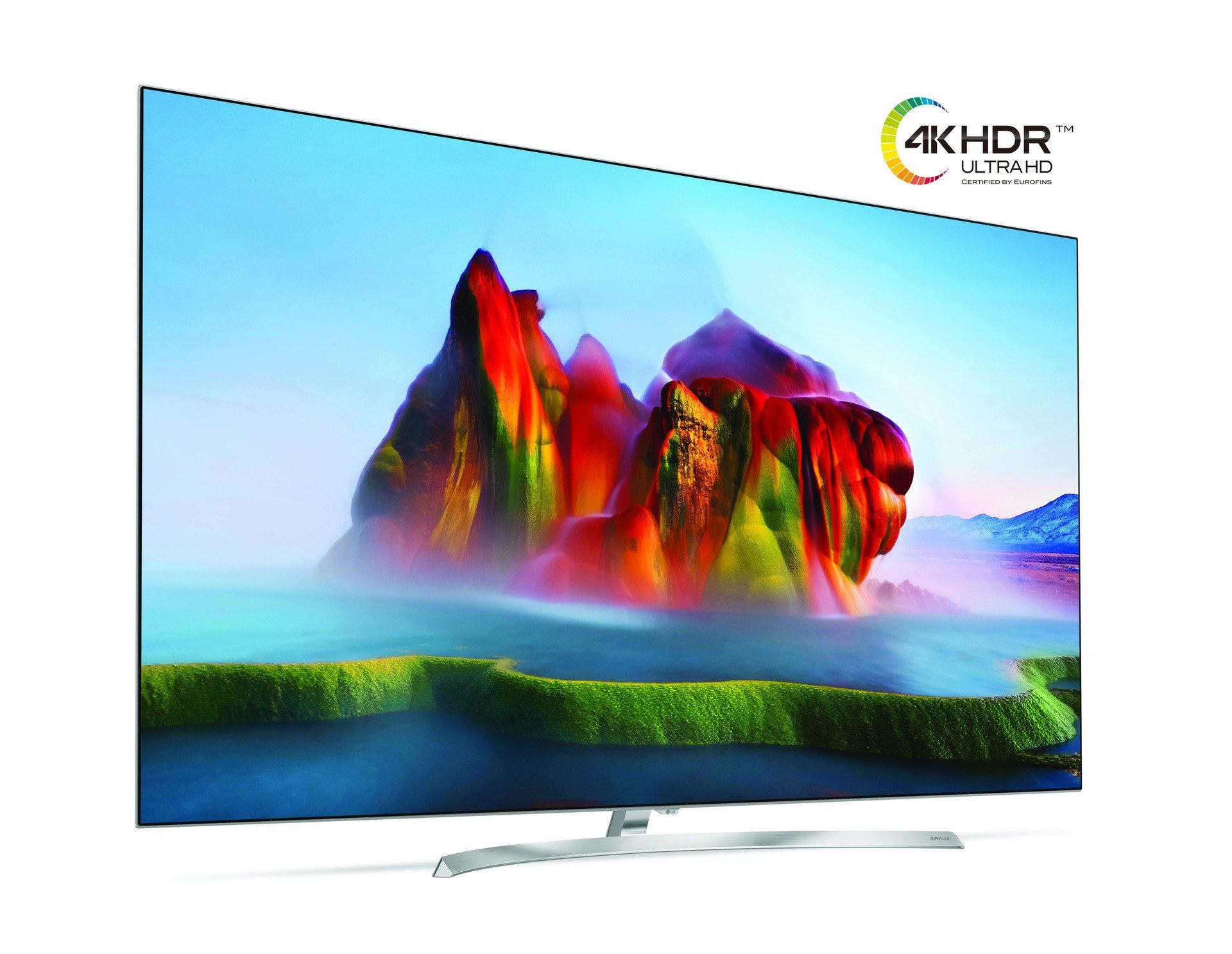 Telewizory LG 4K 2017 otrzymują certyfikat jakości EUROFINS