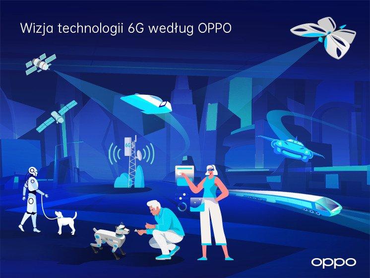 OPPO przedstawia raport o technologii 6G