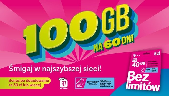 """""""Śmigaj w najszybszej sieci!"""" – rusza kampania reklamowa oferty T-Mobile na kartę"""