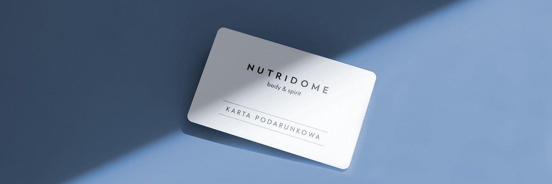 Sklep Nutridome wprowadza kartę podarunkową