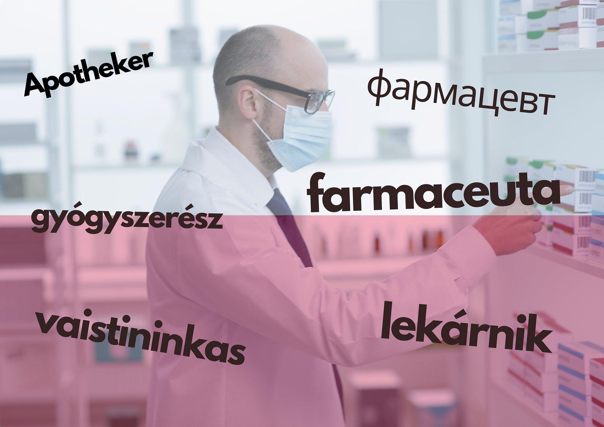 Wykonywanie zawodu farmaceuty tylko ze znajomością języka
