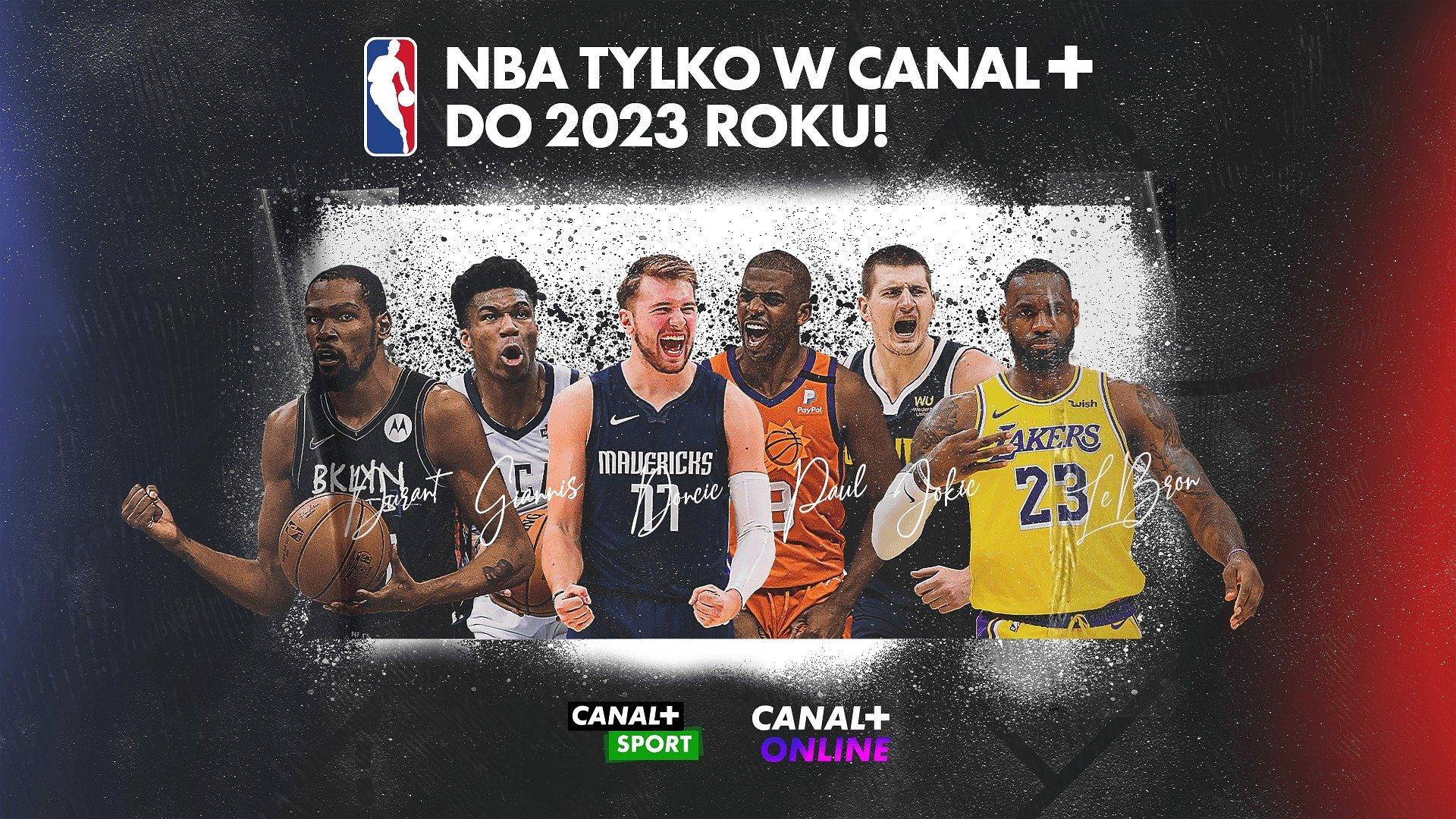 CANAL+ I NBA ŚWIĘTUJĄ 20-LECIE WSPÓŁPRACY I PRZEDŁUŻAJĄ KONTRAKT O KOLEJNE DWA SEZONY
