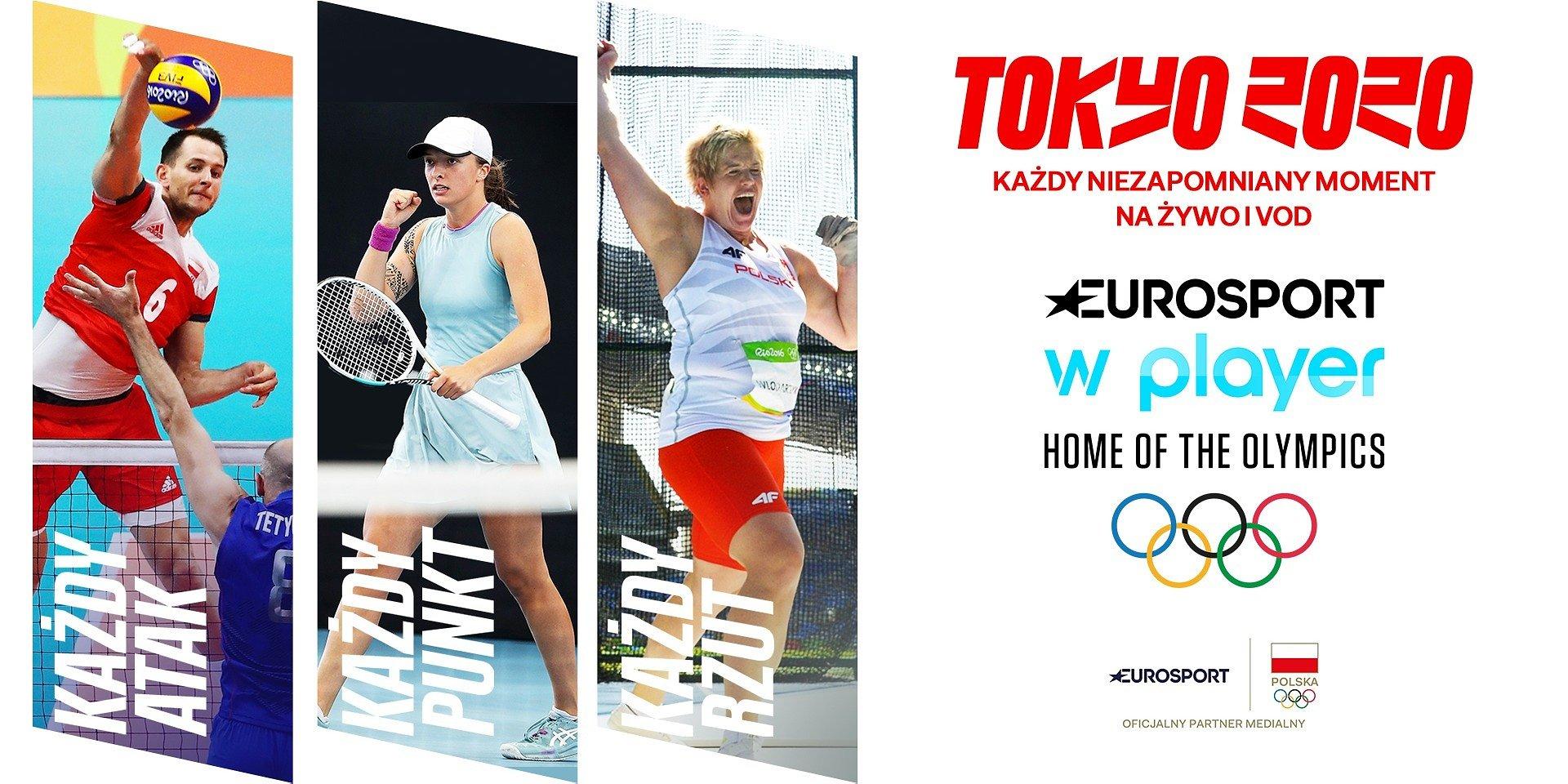 Discovery i Eurosport gotowe na Igrzyska Olimpijskie Tokio 2020!