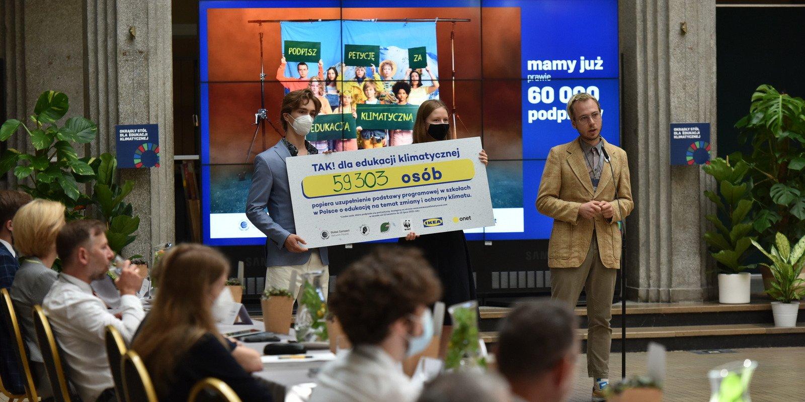 Blisko 60 tys. podpisów pod petycją za edukacją klimatyczną - rząd jest otwarty na rozmowy o zmianach programowych w nauczaniu
