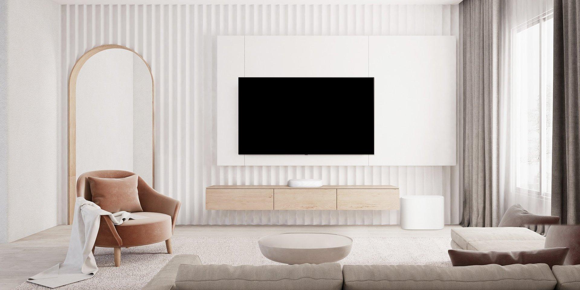 Najbardziej kompaktowy soundbar firmy LG wypełnia dźwiękiem całe wnętrze, zapewniając satysfakcję miłośnikom filmów i muzyki na całym świecie