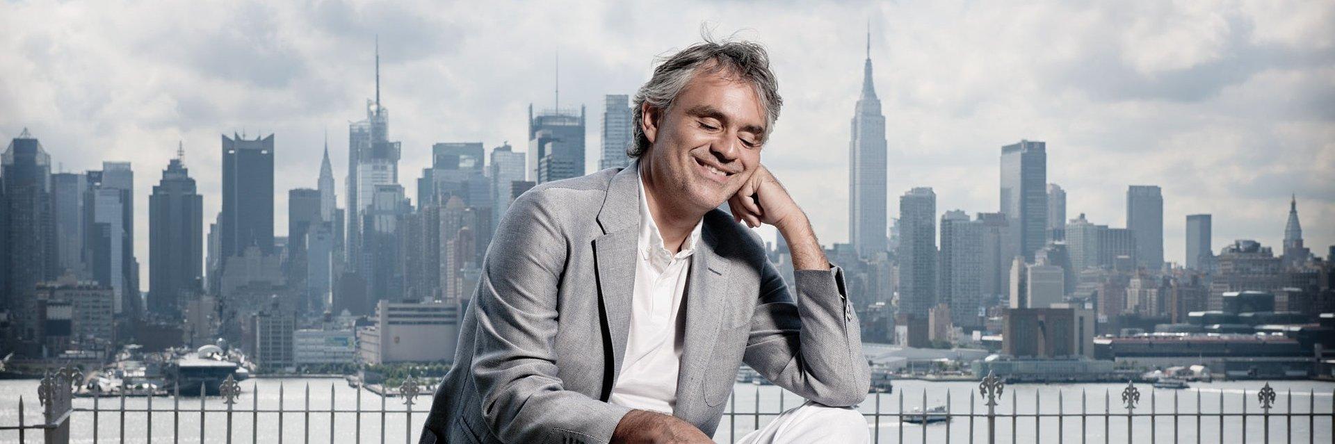 "Prezentujemy album Andrea Bocelli ""Concerto: One Night in Central Park"""