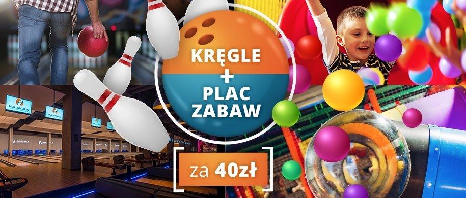 Promocja w Hulakula: kręgle + plac zabaw tylko za 40 zł