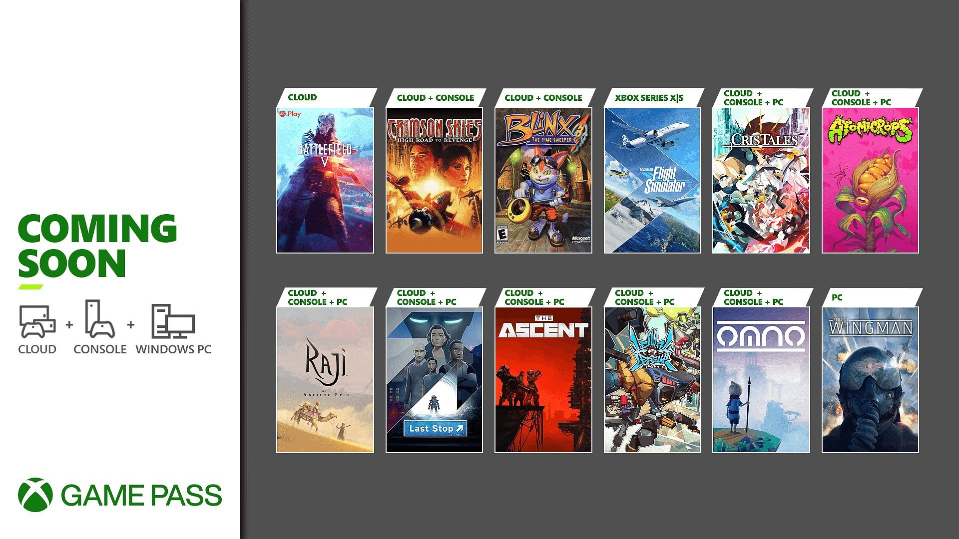 A chegar ao Xbox Game Pass