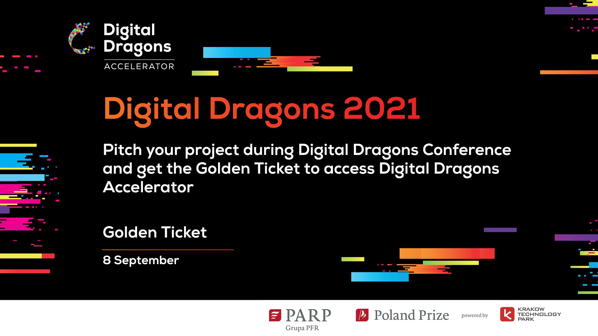 Submit your studio and win a Golden Ticket for the acceleration programme during Digital Dragons 2021!