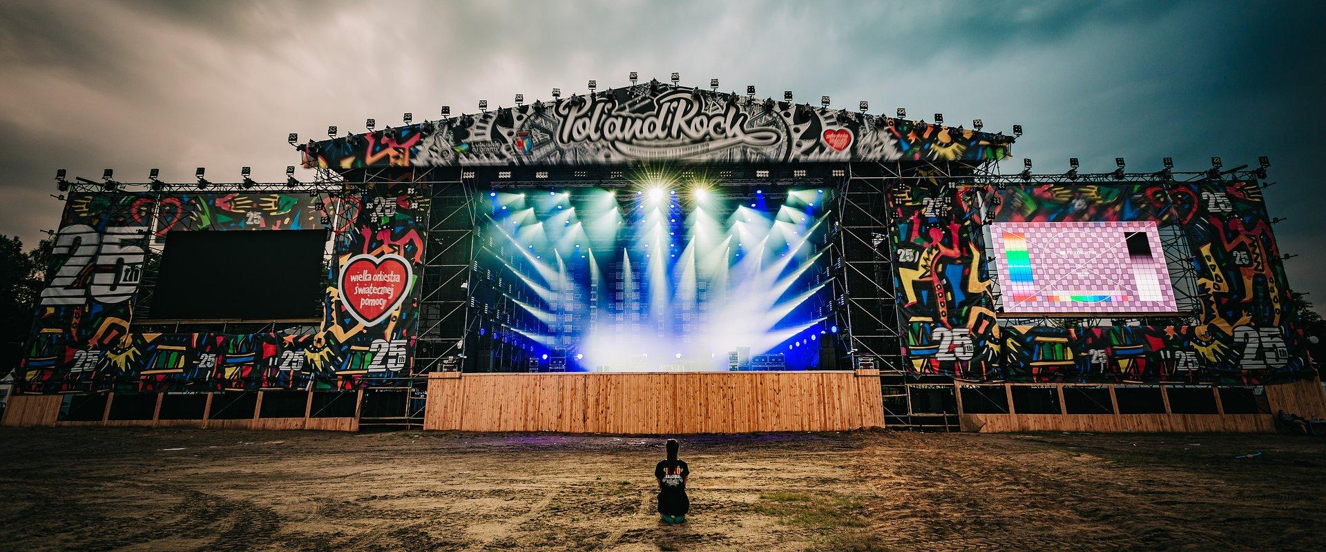 Zawsze gramy to, co lubimy - sześć zagranicznych i ponad 20 polskich kapel na Pol'and'Rock Festival