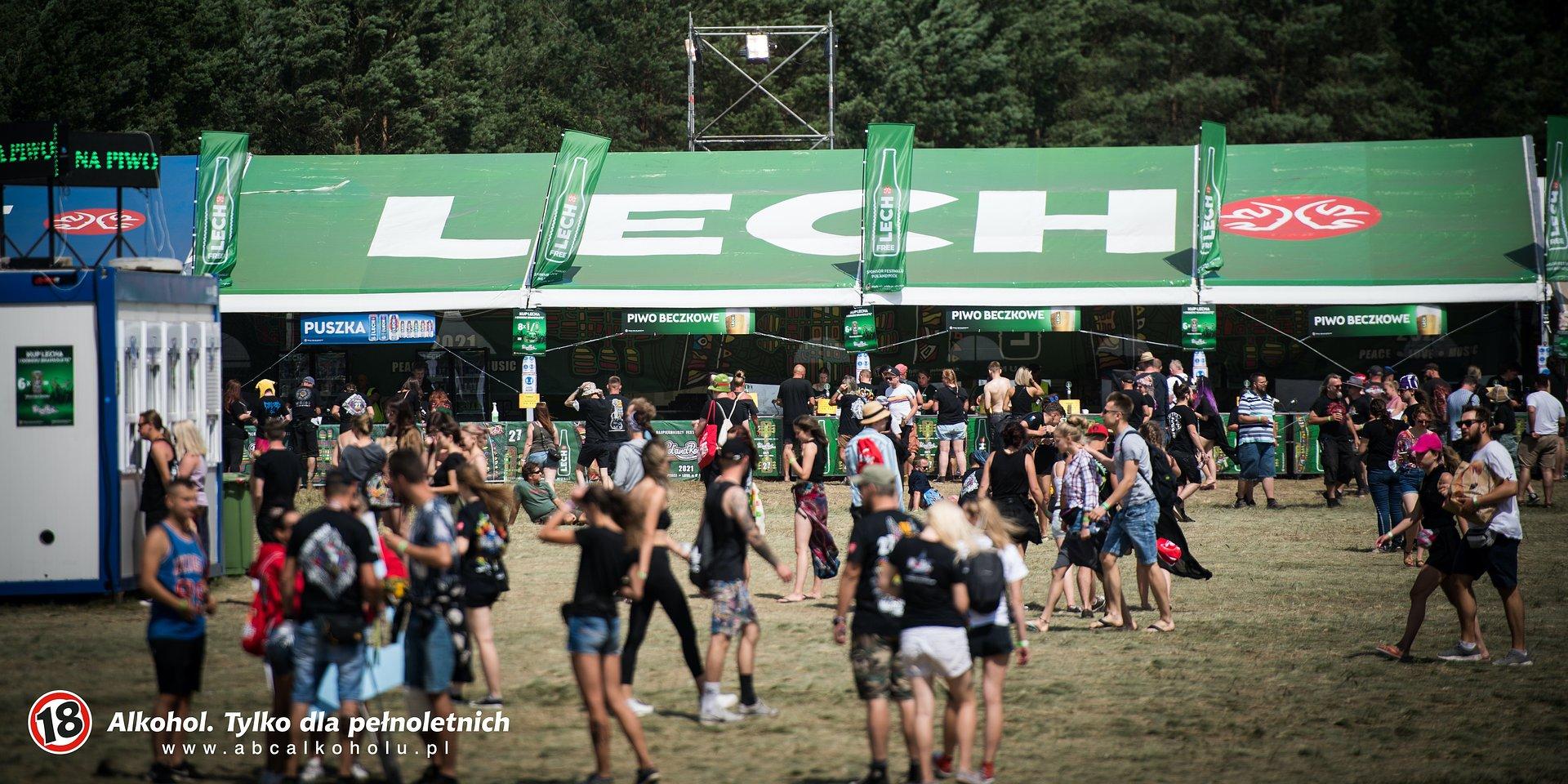 Lech wraz ze specjalną strefą powrócił na Pol'and'Rock Festival