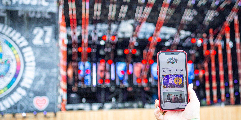 Festiwalowa aplikacja Pol'and'Rock dostępna do pobrania