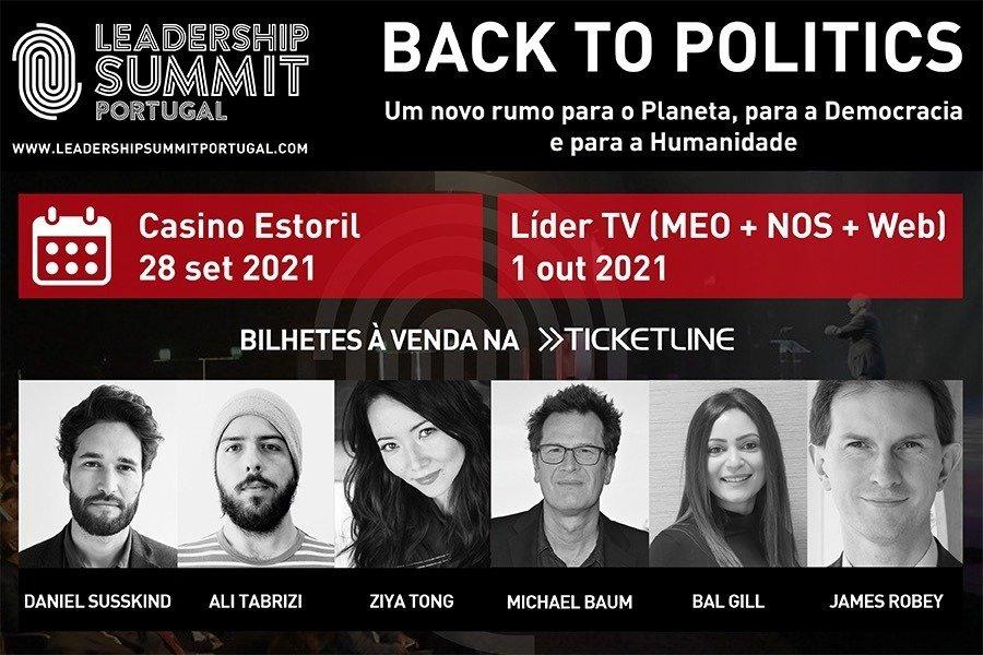 Leadership Summit Portugal regressa a 28 de setembro sob o tema 'Back to Politics'