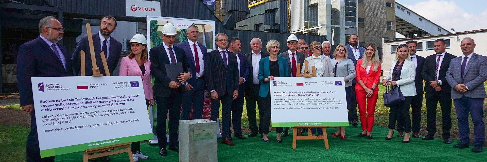 Veolia Południe zredukuje o ponad 50% wykorzystanie węgla w ciepłowni w Tarnowskich Górach. Rusza budowa zespołu kogeneracyjnego