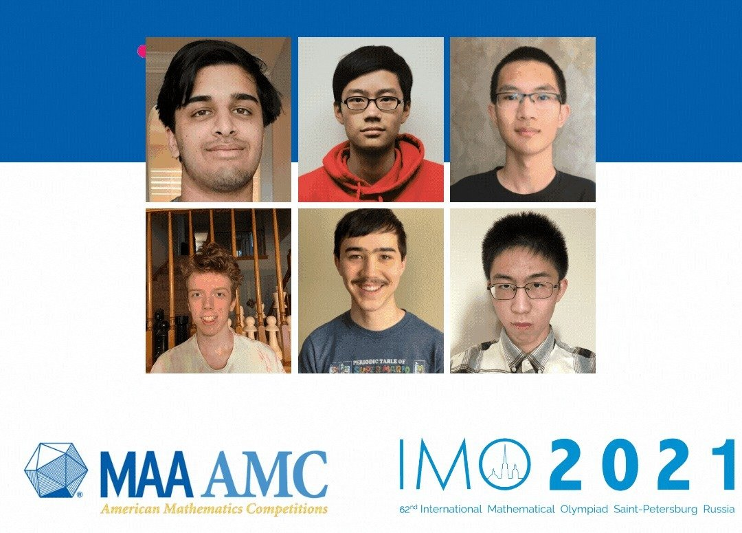 Team USA Earns Fourth Place at 62nd International Mathematical Olympiad