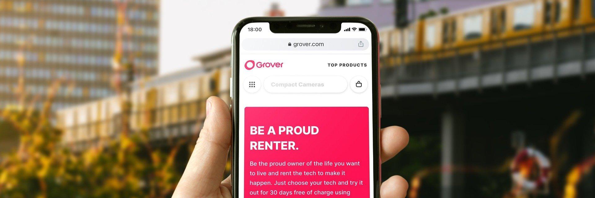 Grover secures $1bn to democratize access to consumer tech