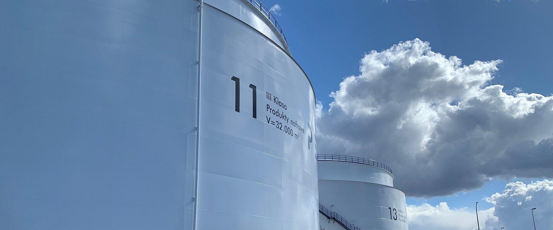 PERN: trzeci etap rozbudowy pojemności paliwowych wchodzi w decydującą fazę