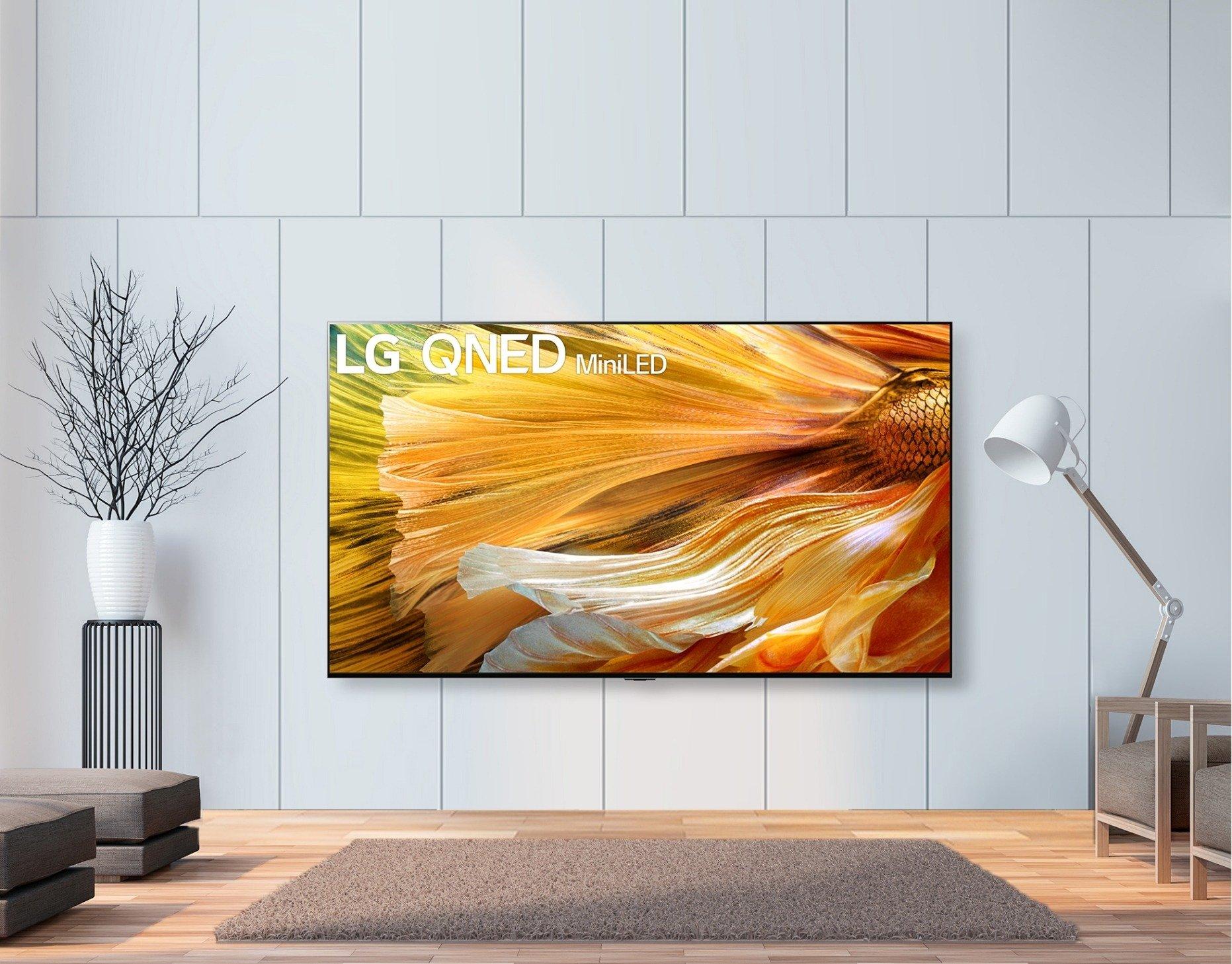 Ruszyła przedsprzedaż premierowych telewizorów LG QNED MiniLED. Nowa jakość obrazu na ekranie LCD