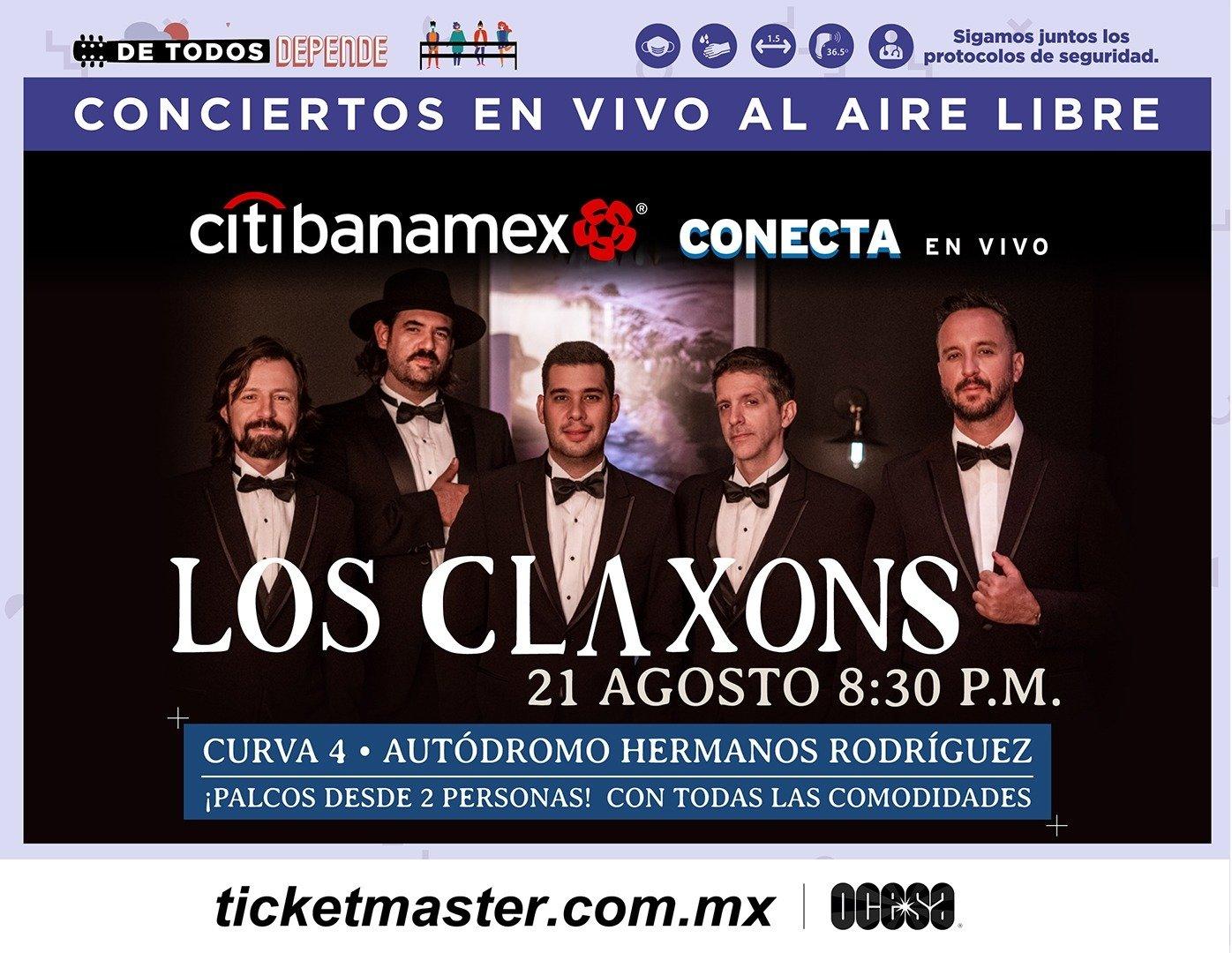 ¡Noche de pop rock con Los Claxons!