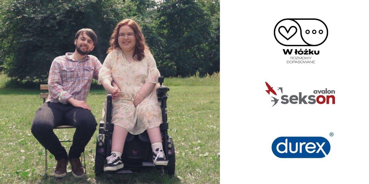 """O niepełnosprawności i seksualności w nowym odcinku serii marki Durex i Fundacji Avalon """"W ŁÓŻKU. Rozmowy dopasowane"""""""