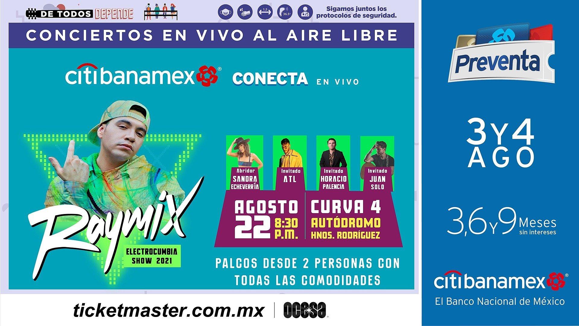 Fiesta y baile con la electrocumbia de Raymix en la CDMX