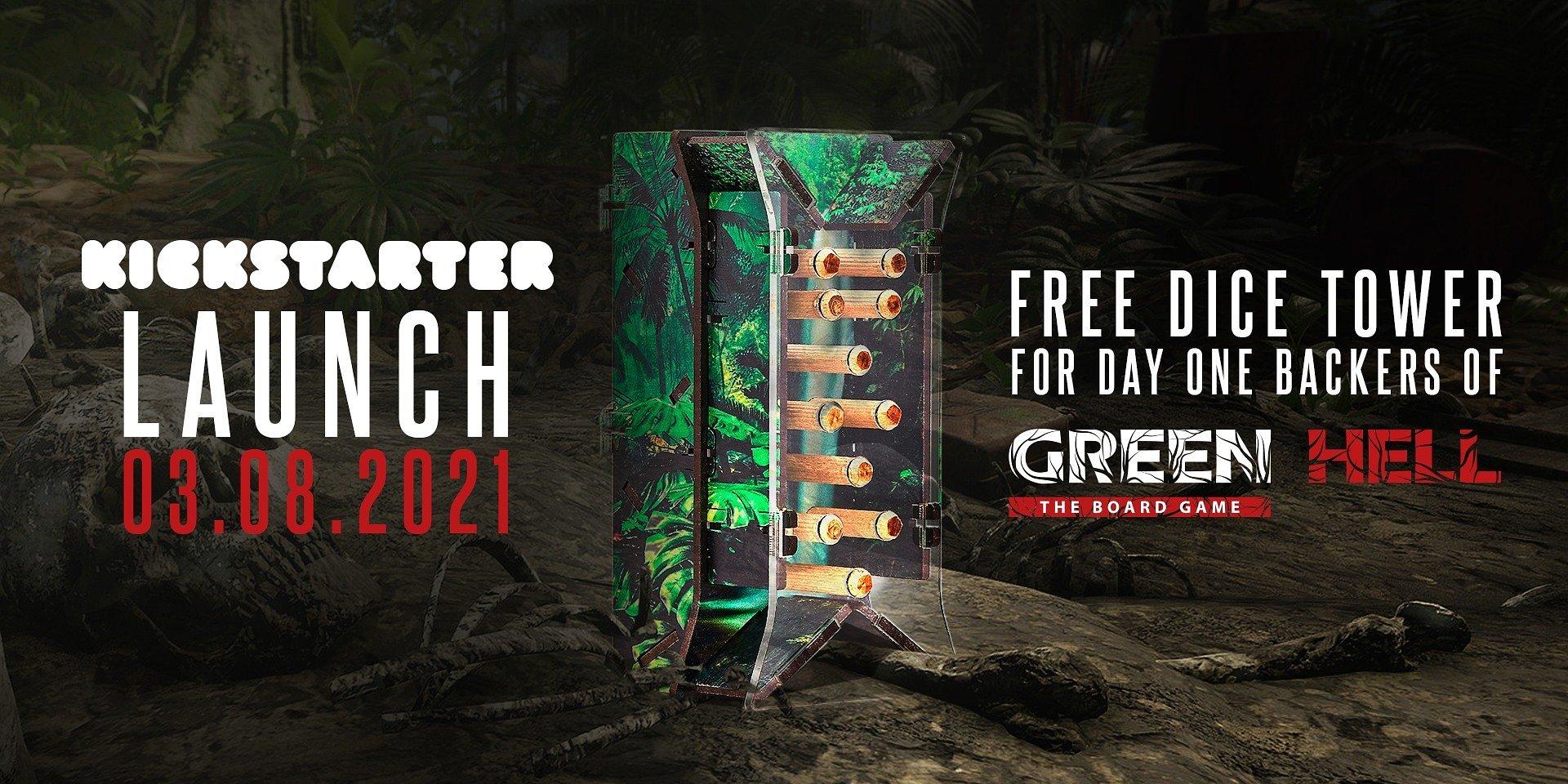 Присоединяйтесь к кампании Green Hell: The Board Game на Kickstarter и узнайте, выживете ли вы в джунглях Амазонки!