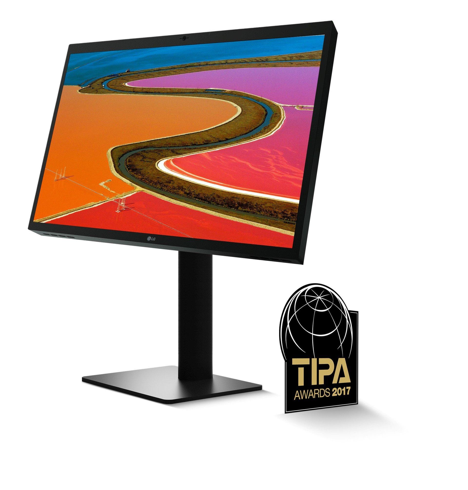 """Monitor LG ULTRAFINE™ 5K otrzymał tytuł """"Najlepszego monitora fotograficznego""""  w prestiżowym konkursieTIPA 2017 AWARDS"""