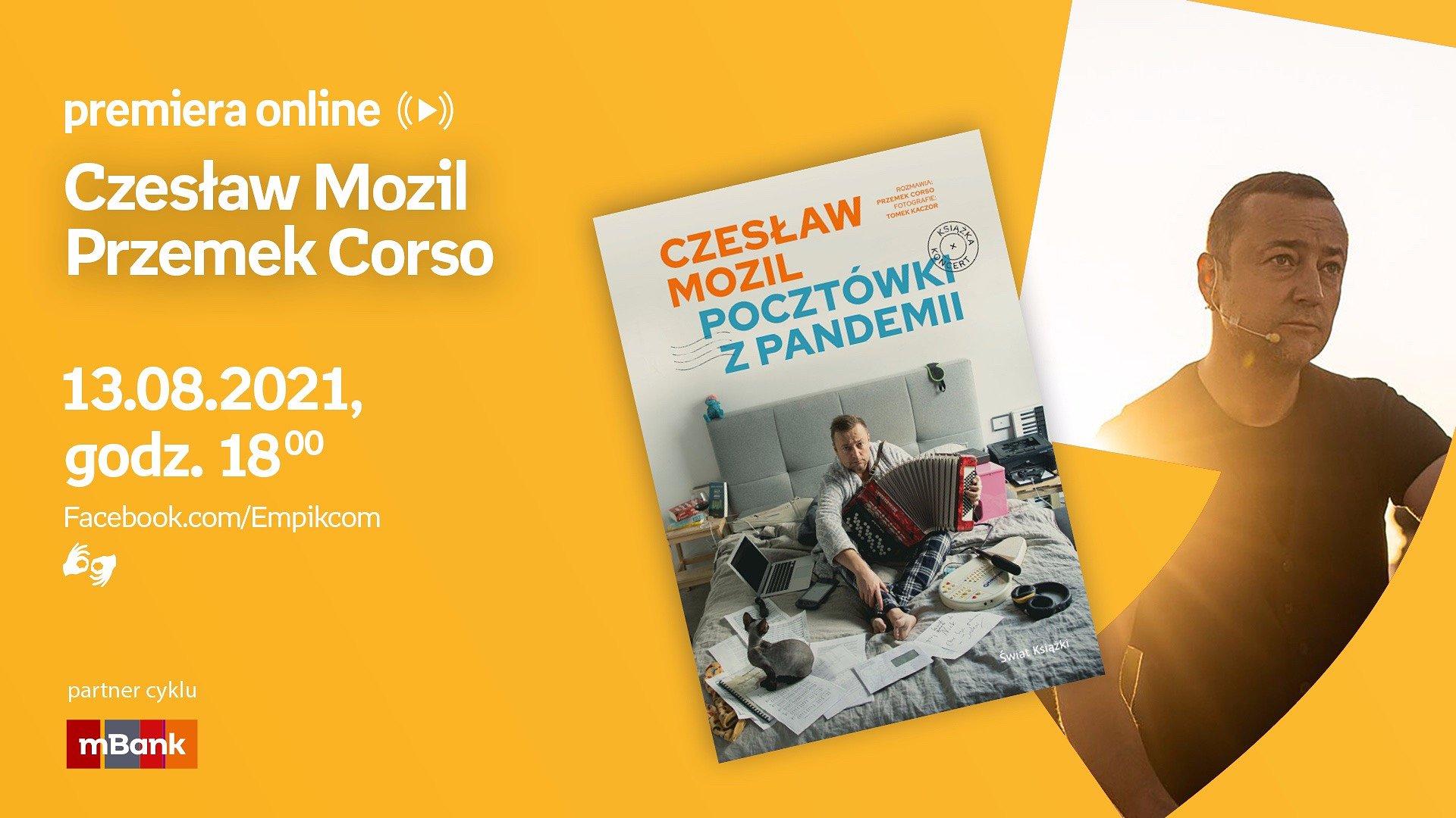 Spotkania autorskie z Czesławem Mozilem, Martinem Lewandowskim i Jakubem Poradą