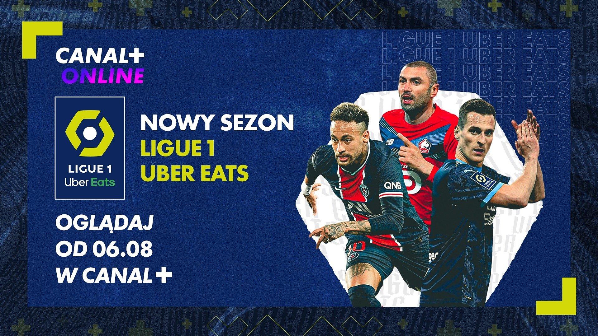 Start Ligue 1 Uber Eats, hity w PKO BP Ekstraklasie oraz polskie rundy Speedway GP – zapowiedź weekendu w CANAL+.