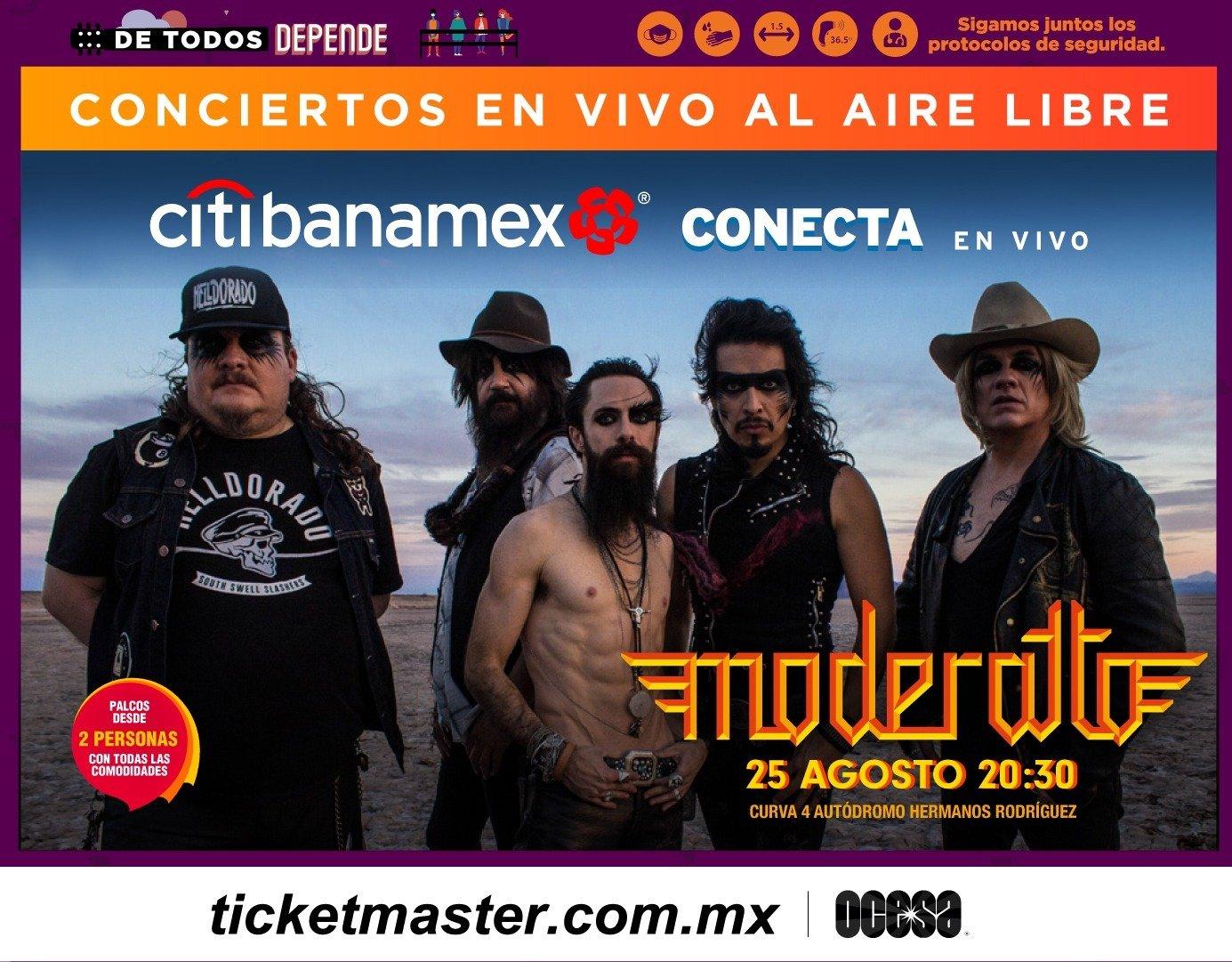 Moderatto ofrecerá un poderoso show en la CDMX