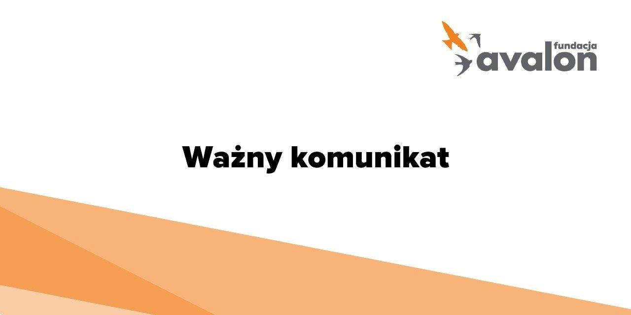 Oświadczenie zarządu Fundacji Avalon – wolne i niezależne media w Polsce