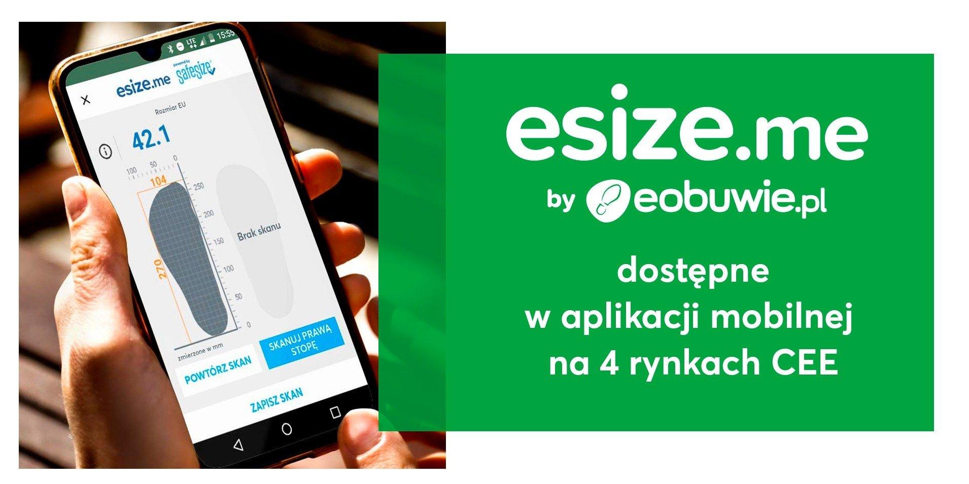 Eobuwie.pl udostępnia esize.me na rynkach zagranicznych