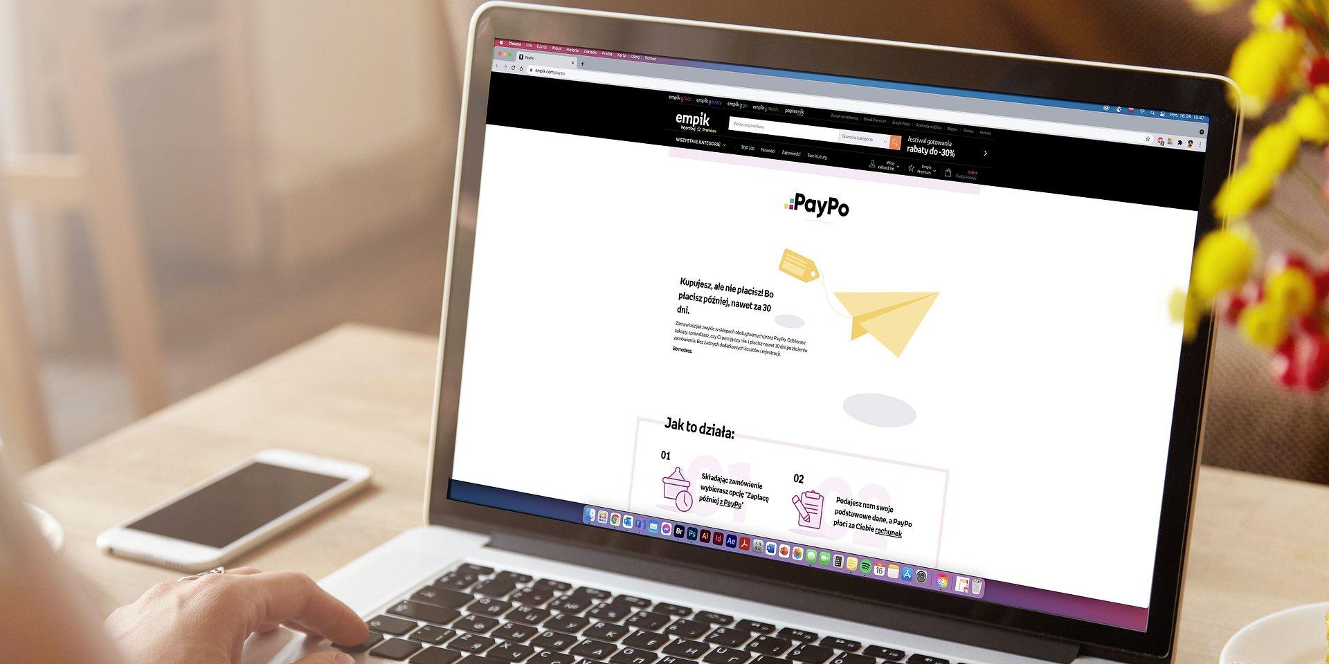 Empik.com udostępnia klientom odroczone płatności PayPo