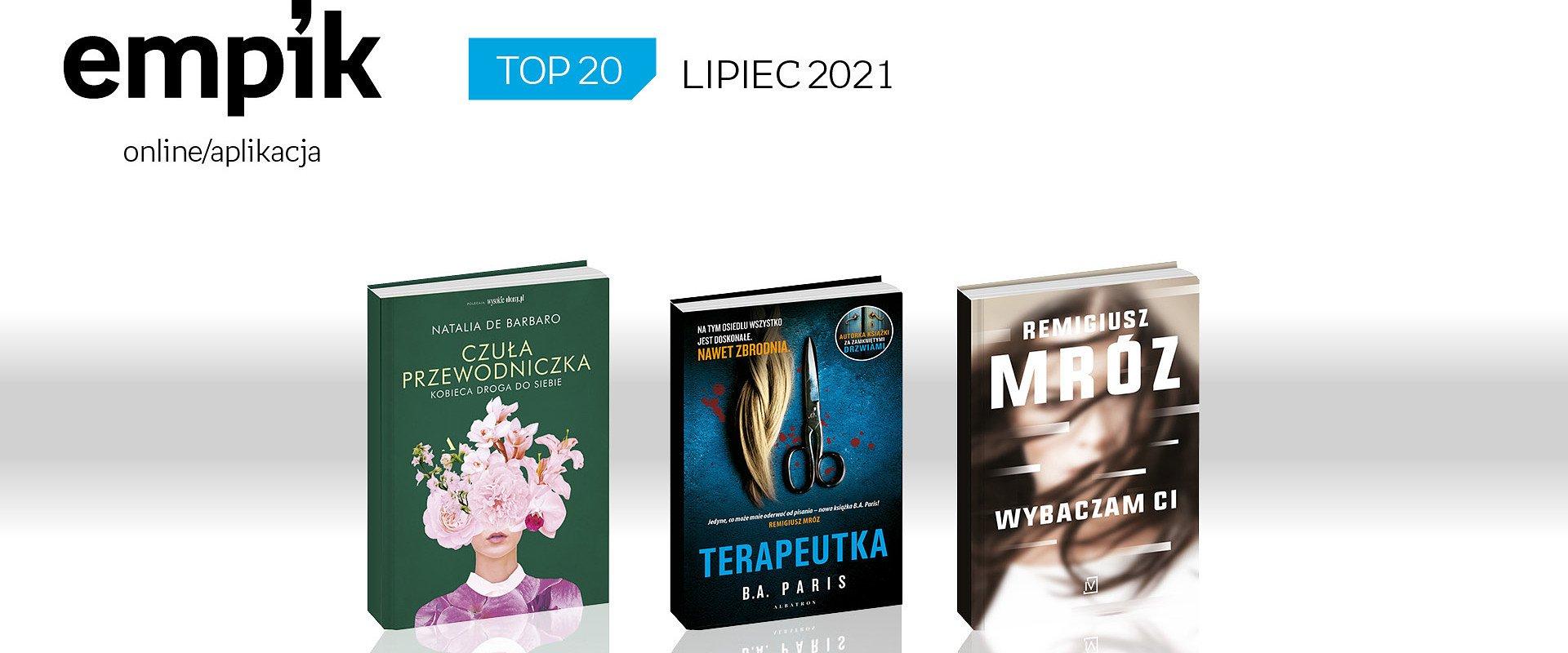 Lipcowe bestsellery książkowe w Empiku