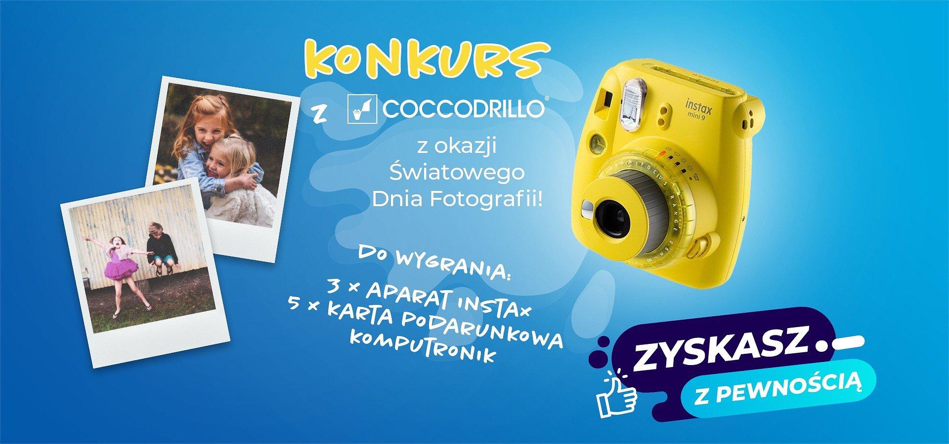 Cyknij fotkę z przyjaciółmi i zgarnij Instax Mini!