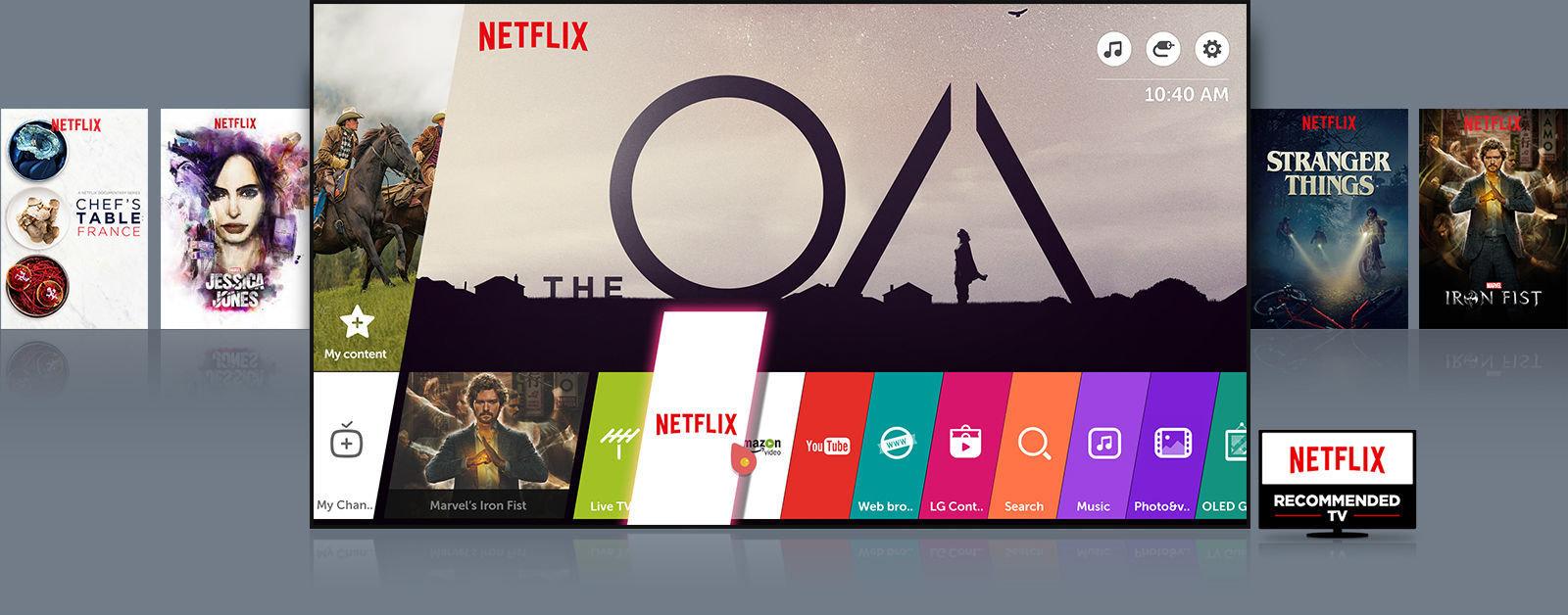 Netflix za darmo już od dziś na nowych telewizorach LG SUPER UHD oraz OLED 2017