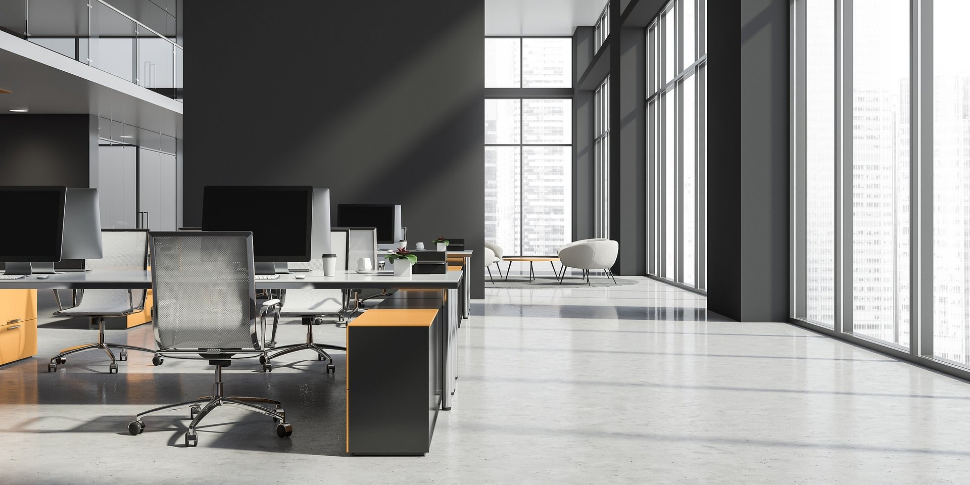 Oświetlenie nowoczesnych przestrzeni biurowych
