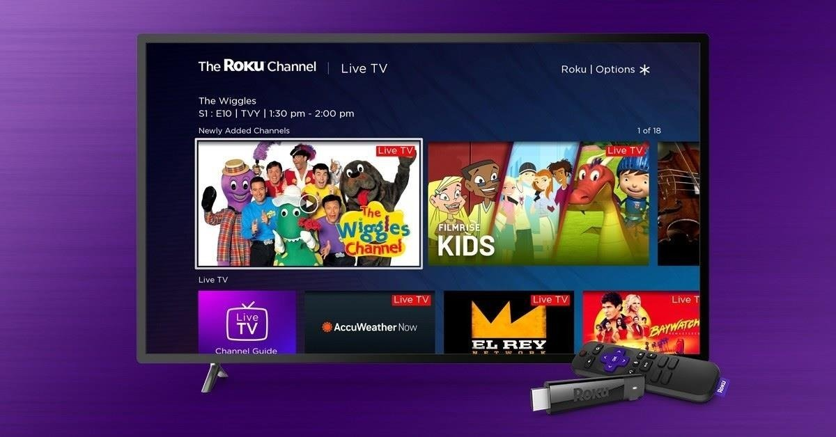 Launches The Wiggles Channel Exclusively First On The Roku Channel Beginning August 19th